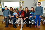 The Curtin family at home on Sunday. L to r: Riain Murphy, Tammy Curtin, Jack Boyle, Alfie, Maureen and Laura Lee Curtin and Dáire Murphy.