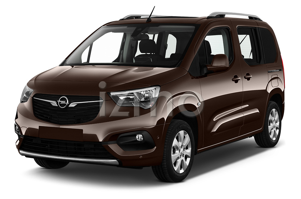 2019 Opel Combo-Life Innovation 5 Door Mini Mpv Angular Front automotive stock photos of front three quarter view