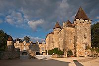 Europe/France/Aquitaine/24/Dordogne/ Saint-Jean-de-Côle: Le Château de la Marthonye ou de la Marthonie, XIVe siècle, XVe siècle, XVIe siècle et XVIIIe siècle, classé monument historique