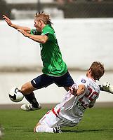 090301 NZFC Football - Manawatu v Waitakere