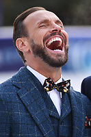 """Jason Gardiner<br /> at the """"Dancing on Ice"""" launch photocall, natural History Museum, London<br /> <br /> <br /> ©Ash Knotek  D3365  19/12/2017"""