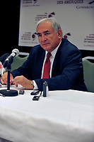 Dominique Strauss-Kahn<br /> , 2009<br /> <br /> PHOTO :  Agence Quebec Presse