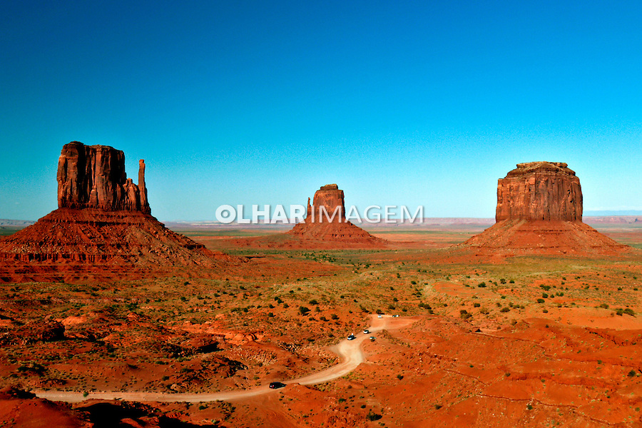 Navajo National Park. Monument Valley. EUA. 2008. Foto de Caio Vilela.