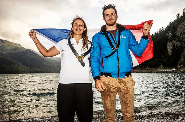 French Sailors Helene Noesmoen & Nicolas Goyard