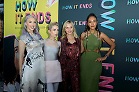 LOS ANGELES - JUL 15:  Whitney Cumings, Zoe Lister-Jones, Rhea Seehorn, Tawny Newsome at How It Ends LA Premiere at NeueHouse Hollywood  on July 15, 2021 in Los Angeles, CA