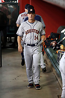 AJ Hinch, manager - 2018 Houston Astros (Bill Mitchell)