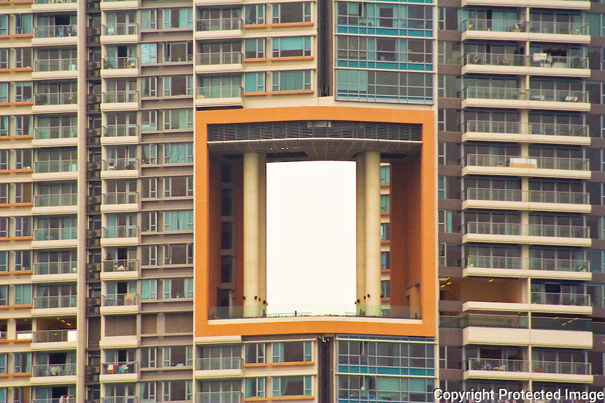 Dragon Hole - an essential Feng Shui feature of high-rise architecture in Hong Kong