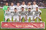 Real Madrid's players during La Liga match between Real Madrid and Real Sociedad at Santiago Bernabeu Stadium in Madrid, Spain. January 29, 2017. (ALTERPHOTOS/BorjaB.Hojas)