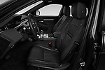 Front seat view of 2020 Land Rover Range-Rover-Evoque SE 5 Door SUV Front Seat  car photos