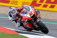 27th August 2021; Silverstone Circuit, Silverstone, Northamptonshire, England; MotoGP British Grand Prix, Practice Day; Pramac Racing Team rider Johann Zarco on his Ducati Desmosedici GP21