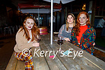 Enjoying the evening in Molly J's on Friday, l to r: Megan Ní Reilly, Sinead Hurley (Currow) and Lilith Walker.