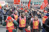 - Metalworkers' strike called by the FIOM CGIL trade union in defense of the national labor contract<br /> <br /> - Sciopero dei lavoratori metalmeccanici indetto dal sindacato FIOM CGIL in difesa del contratto nazionale del lavoro; manifestazione di Milano