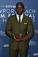 Jimmy Akingbola<br /> arriving for the Newport Beach Film Festival UK Honours 2020, London.<br /> <br /> ©Ash Knotek  D3551 29/01/2020