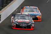 NASCAR XFINITY Series<br /> Lilly Diabetes 250<br /> Indianapolis Motor Speedway, Indianapolis, IN USA<br /> Saturday 22 July 2017<br /> Kyle Busch, NOS Energy Drink Rowdy Toyota Camry Erik Jones, GameStop/Nerf Toyota Camry<br /> World Copyright: Michael L. Levitt<br /> LAT Images