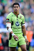 George Pisi of Northampton Saints during the Premiership Rugby match between London Irish and Northampton Saints at the Madejski Stadium on Saturday 4th October 2014 (Photo by Rob Munro)