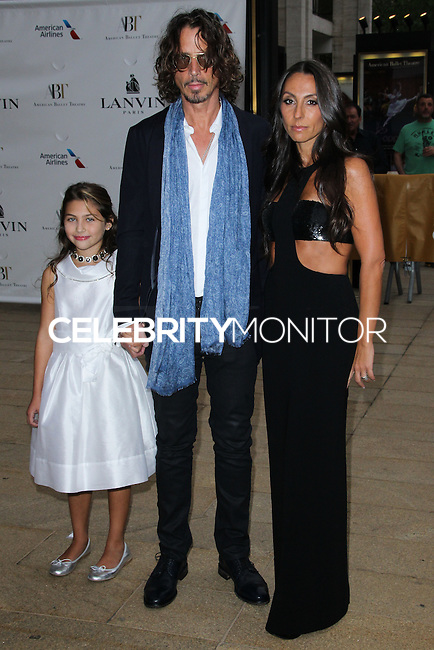 NEW YORK CITY, NY, USA - MAY 12: Toni Cornell, Chris Cornell, Vicky Karayiannis at the American Ballet Theatre 2014 Opening Night Spring Gala held at The Metropolitan Opera House on May 12, 2014 in New York City, New York, United States. (Photo by Celebrity Monitor)