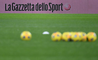 Italian newspaper Gazzetta dello sport advertise is seen prior to the Serie A football match between AS Roma and UC Sampdoria at Olimpico stadium in Roma (Italy), January 3rd, 2021. Photo Andrea Staccioli / Insidefoto
