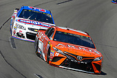 Monster Energy NASCAR Cup Series<br /> Toyota Owners 400<br /> Richmond International Raceway, Richmond, VA USA<br /> Sunday 30 April 2017<br /> Daniel Suarez, Joe Gibbs Racing, ARRIS Toyota Camry and Chris Buescher, JTG Daugherty Racing, KingsFord Fusion Chevrolet SS<br /> World Copyright: Russell LaBounty<br /> LAT Images<br /> ref: Digital Image 17RIC1Jrl_6239