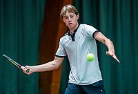 Wateringen, The Netherlands, December 4,  2019, De Rhijenhof , NOJK 14 and18 years, Guy den Ouden (NED)<br /> Photo: www.tennisimages.com/Henk Koster