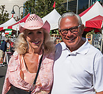 Linda and George Ozuna during the Italian Festival in downtown Reno on Saturday, Oct. 7, 2017.