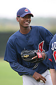 March 20th 2008:  Alexander Perez of the Cleveland Indians minor league system during Spring Training at Chain of Lakes Training Complex in Winter Haven, FL.  Photo by:  Mike Janes/Four Seam Images