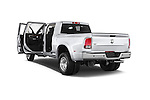 Car images close up view of a 2017 Ram 3500 Laramie 4 Door Van doors