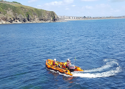 Tramore's RNLI D Class lifeboat