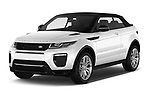 2017 Land Rover Range-Rover-Evoque HSE-Dynamic 2 Door SUV Angular Front stock photos of front three quarter view