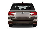 Straight rear view of a 2018 Honda Odyssey EX-L 5 Door Mini Van stock images