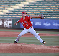 Connor Van Scoyoc - Los Angeles Angels 2021 extended spring training (Bill Mitchell)