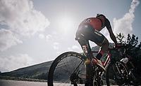 Tsgabu Grmay  (ETH/Bahrain-Merida) up the Col d'Izoard (HC/2360m/14.1km/7.3%)<br /> <br /> 104th Tour de France 2017<br /> Stage 18 - Briancon › Izoard (178km)