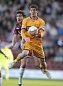 31/10/2009  Copyright  Pic : James Stewart.sct_jspa02_motherwell_v_hearts  . :: LUKAS JUTKIEWICZ AND RUBEN PALAZUELOS CHALLENGE :: .James Stewart Photography 19 Carronlea Drive, Falkirk. FK2 8DN      Vat Reg No. 607 6932 25.Telephone      : +44 (0)1324 570291 .Mobile              : +44 (0)7721 416997.E-mail  :  jim@jspa.co.uk.If you require further information then contact Jim Stewart on any of the numbers above.........