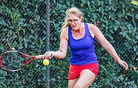 Hilversum, The Netherlands, September 2, 2018,  Tulip Tennis Center, NKS, National Championships Seniors, Women's 50+ final: Céline Neefkes-Zonneveld (NED) <br /> Photo: Tennisimages/Henk Koster