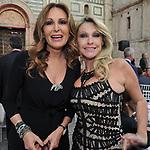 DANIELA SANTANCHE' CON PAOLA FERRARI<br /> PREMIO CIAK D'ORO - CINECITTA' ROMA 2015