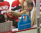 Brian Durocher (BU - Head Coach) - The Boston College Eagles defeated the visiting Boston University Terriers 5-3 (EN) on Friday, November 4, 2016, at Kelley Rink in Conte Forum in Chestnut Hill, Massachusetts.The Boston College Eagles defeated the visiting Boston University Terriers 5-3 (EN) on Friday, November 4, 2016, at Kelley Rink in Conte Forum in Chestnut Hill, Massachusetts.