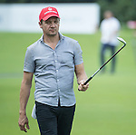 Jeremy Renner during the World Celebrity Pro-Am 2016 Mission Hills China Golf Tournament on 22 October 2016, in Haikou, China. Photo by Weixiang Lim / Power Sport Images