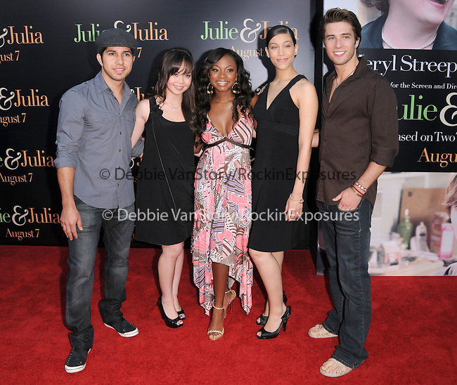 The Cast of Fame at The Columbia Pictures' Screening of  Julie & Julia held at The Mann's Village Theatre in Westwood, California on July 27,2009                                                                   Copyright 2009 Debbie VanStory / RockinExposures