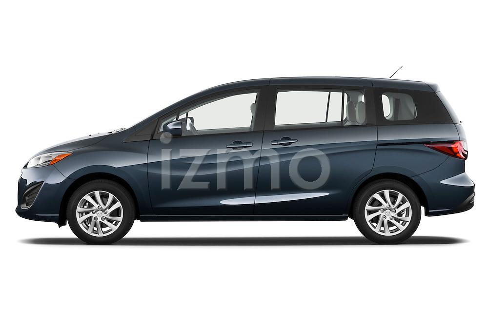 Driver side profile view of a 2012 Mazda Mazda5.