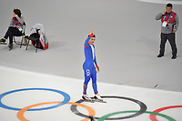 OLYMPIC GAMES: PYEONGCHANG: 19-02-2018, Gangneung Oval, Long Track, 500m Men, Pedro Causil (COL), ©photo Martin de Jong