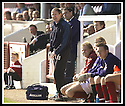 12/04/2003                   Copright Pic : James Stewart.File Name : stewart-arbroath v qots 06.ARBROATH'S MANAGER JOHN BROWNLIE SHOUTS INSTRUCTIONS AS HE SEES HIS TEAM'S 1ST DIVISION STATUS SLIPPING AWAY....James Stewart Photo Agency, 19 Carronlea Drive, Falkirk. FK2 8DN      Vat Reg No. 607 6932 25.Office     : +44 (0)1324 570906     .Mobile  : +44 (0)7721 416997.Fax         :  +44 (0)1324 570906.E-mail  :  jim@jspa.co.uk.If you require further information then contact Jim Stewart on any of the numbers above.........