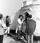 Beatles 1967 John Lennon films Magical Mystery Tour at Newquay ..© Chris Walter..