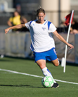 19 July 2009: Mary-Frances Monroe of Boston Breakers kicks the ball during the game against FC Gold Pride at Buck Shaw Stadium in Santa Clara, California.   Boston Breakers defeated FC Gold Pride, 1-0.