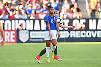 Carson, CA - Thursday August 03, 2017: Maria during a 2017 Tournament of Nations match between the women's national teams of Australia (AUS) and Brazil (BRA) at the StubHub Center.