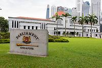 Parliament Building, Singapore.