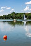 Oesterreich, Salzburger Land, Flachgau, der Wallersee bei Neumarkt am Wallersee | Austria, Salzburger Land, region Flachgau, Waller Lake near Neumarkt am Wallersee