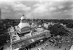 Famous Kali temple at Kalighat in Kolkata, India.