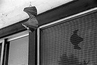 Windchime in the backyard, 1987.  &#xA;<br />