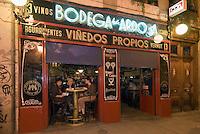 Spanien, Bodega La Ardosa in Madrid, Calle Colon 13
