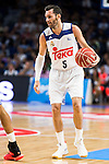 Real Madrid's player Rudy Fernandez during match of Liga Endesa at Barclaycard Center in Madrid. September 30, Spain. 2016. (ALTERPHOTOS/BorjaB.Hojas)