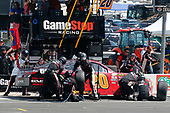 2017 NASCAR Xfinity Series<br /> My Bariatric Solutions 300<br /> Texas Motor Speedway, Fort Worth, TX USA<br /> Saturday 8 April 2017<br /> Erik Jones, Game Stop/ GAEMS Toyota Camry pit stop<br /> World Copyright: Russell LaBounty/LAT Images<br /> ref: Digital Image 17TEX1rl_3814